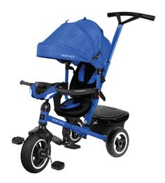 Велосипед трехколесный Rider 360° синий 641207 Moby Kids
