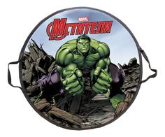 Ледянка детская 1TOY Marvel Hulk круглая 52 см