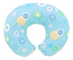 Подушка для кормления Chicco с хлопковым чехлом «Boppy», Голубая 7990209
