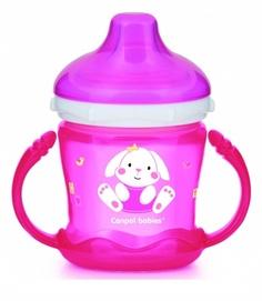 Чашка-непроливайка Canpol Sweet Fun 180 мл розовый