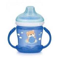 Чашка-непроливайка Canpol Sweet Fun 180 мл голубой