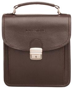 Портфель мужской кожаный Lakestone Bishop коричневый