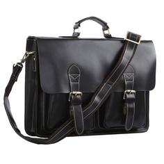 Портфель мужской кожаный Кошелькофф 7105BK черный
