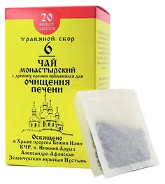 Чай Монастырский №6 Бизорюк Фабрика здоровья очищение печени ф/п 20 шт.