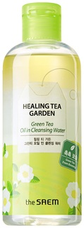 Средство для снятия макияжа The Saem Healing Tea Garden Green Tea Cleansing Water 300 мл