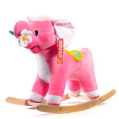 Качалка детская Нижегородская игрушка Слон с цветком См-750-4Сл