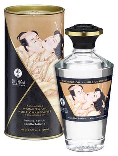 Массажное интимное масло с ароматом ванили 100 мл Shunga
