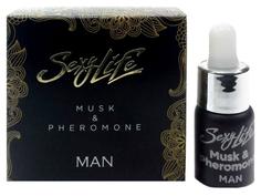 Мужские духи с феромонами Sexy Life Musk Pheromone 5 мл Парфюм престиж