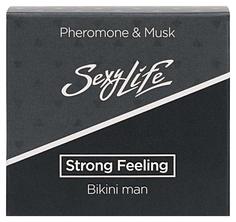 Мужские духи с феромонами для зоны бикини Strong Feeling 5 мл Парфюм престиж