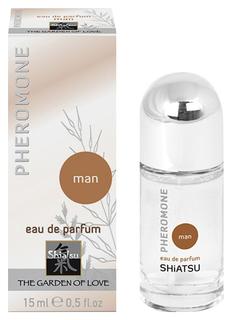 Мужские духи с феромонами Pheromon Parfum 15 мл Shiatsu