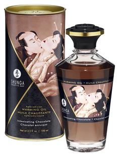 Массажное интимное масло с ароматом шоколада 100 мл Shunga