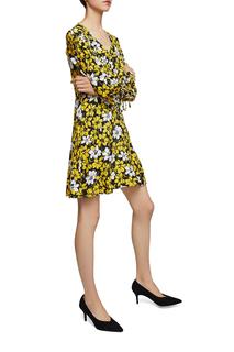 Платье женское MANGO желтое M