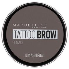 Помада для бровей Maybelline New York Augenbrauen Tattoo 04 Ash Brown