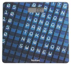 Весы напольные Tefal Altis Decor PP2100 Синий