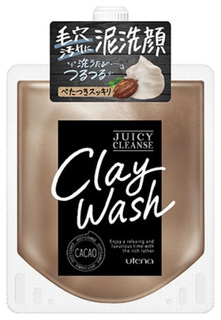 Пенка для умывания Utena Juicy Cleanse уменьшающая жирность кожи на основе глины