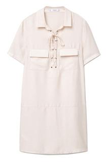Платье женское MANGO розовое XS