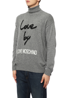 Водолазка мужская Love Moschino M S D01 10 X 0683 B444 серая M