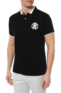 Поло мужское Roberto Cavalli FST643A-20805051 черное XL