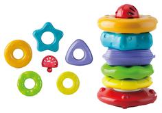 Развивающая игрушка Little Hero Собирай и катай пирамидка 3035