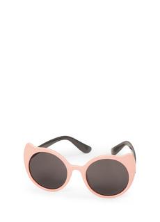 Солнцезащитные очки детские Happy Baby Pink Котики