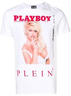 Philipp Plein футболка Philipp Plein X Playboy с принтом
