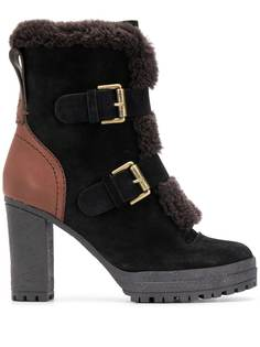 See By Chloé ботинки на блочном каблуке