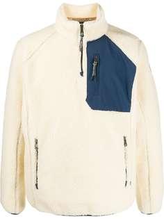Napapijri фактурный пуловер на молнии