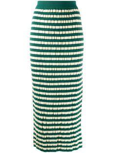 Marni юбка-карандаш в полоску