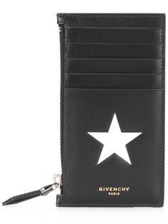 Givenchy визитница с отделением на молнии