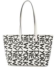 DKNY маленькая сумка-шопер с логотипом