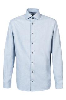 Голубая рубашка с длинными рукавами Van Laack