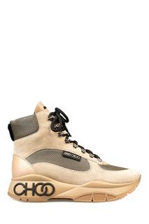 Бежевые ботинки Inca Jimmy Choo