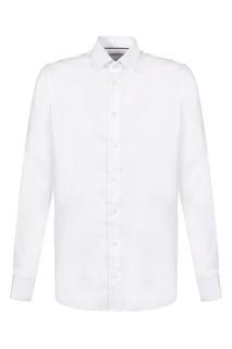 Белая рубашка с длинными рукавами Van Laack