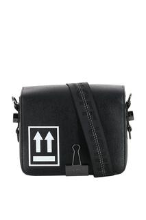 Черная сумка с логотипом Off White
