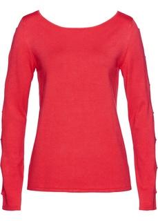 Пуловер с прорезями Bonprix