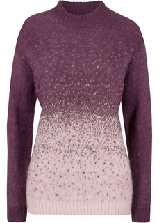Пуловер с переходом расцветок Bonprix