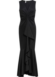 Вечернее платье с вырезами и воланами Bonprix