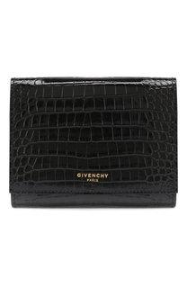 Кожаное портмоне GV3 Givenchy