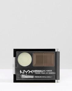 Тени для бровей NYX Professional Makeup-Коричневый