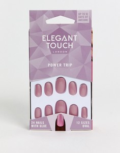 Накладные ногти Elegant Touch Polished Nails - Royal Collection-Розовый