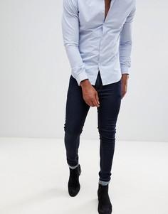 Синие джинсы скинни ASOS DESIGN-Синий