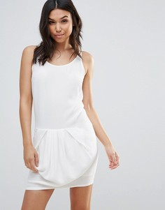 Платье-комбинация See U Soon-Белый