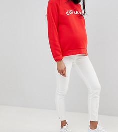Мягкие джинсы скинни GeBe Maternity-Белый