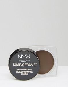 Помада для бровей NYX Professional Makeup Tame & Frame-Черный