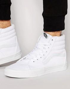 Белые кроссовки Vans Sk8 vd5iw00-Белый