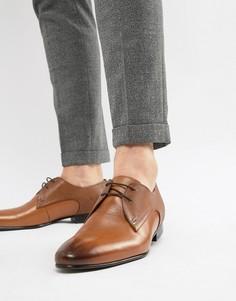 Коричневые кожаные туфли дерби Ted Baker Peair-Светло-коричневый