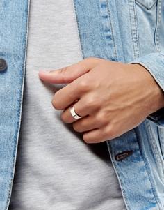 Кольцо цвета розового золота ASOS DESIGN-Розовый