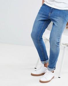 Выбеленные джинсы LDN DNM-Синий