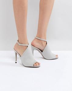 Туфли с открытыми носком и ремешками Carvela-Серый