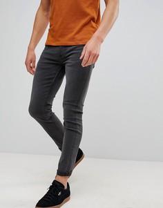 Серые джинсы скинни Only & Sons-Серый